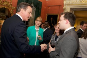 Meeting the PM at Help to Buy event