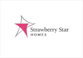 Strawberry Star Homes logo